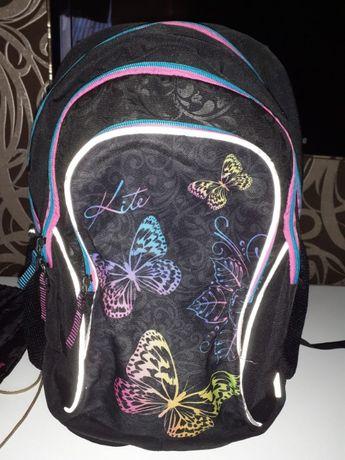 Стильный ортопедический рюкзак Kite оригинал + сумка и пенал