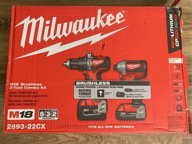 Milwaukee 2893-22CX дрель імпакт