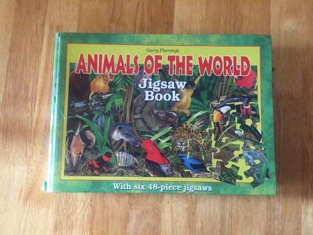 Книжка пазл с животными