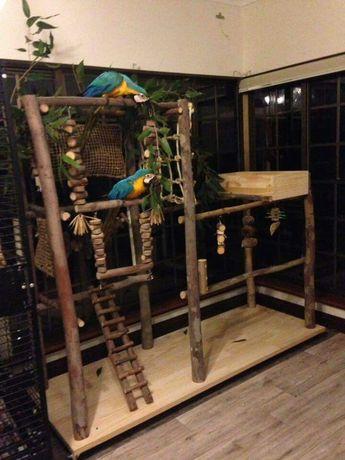 Деревья для попугаев. Жердочки, стенды, присада, аксессуары для клеток