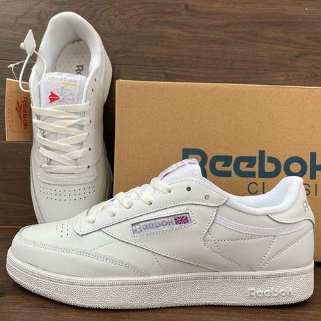 Мужские кроссовки (кеды) Reebok (41-46) Белые (Вьетнам)