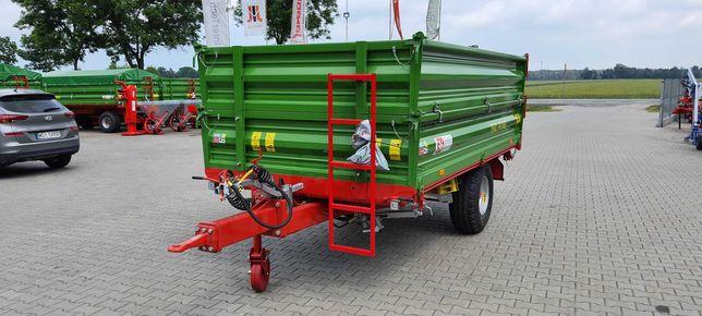 Przyczepa Jednoosiowa Wywrotka Pronar T 654/2 4910kg T 671 Przyczepka