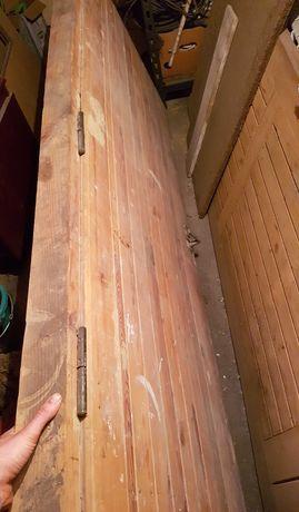 Drzwi sprzedam drewniane