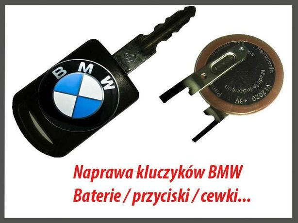 Naprawa / Dorabianie kluczy BMW - Wymiana Akumulatorka/Baterii/