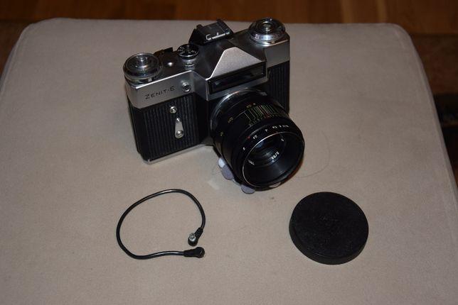 Zenith E - lustrzanka aparat fotograficzny