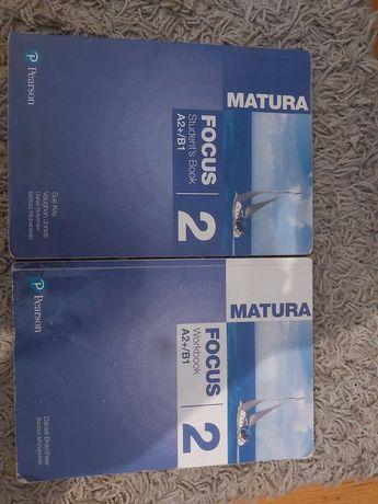 Matura Focus 2 workbook + student's book