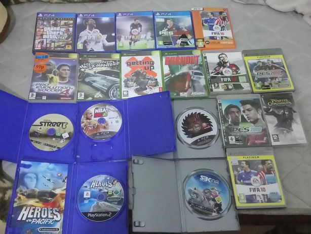 Ps4,Ps3,Ps2,Pc,Xbox,Psp