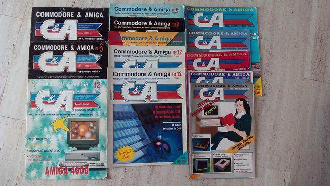 C&A, Commodore & Amiga, czasopismo, miesięcznik, wymienię numer za num