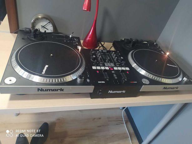 Sprzęt DJ NUMARK zestaw