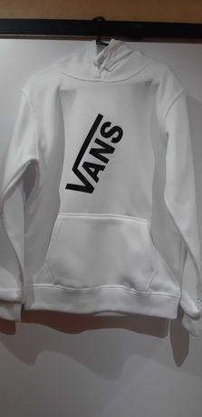 Bluza M biała z napisem