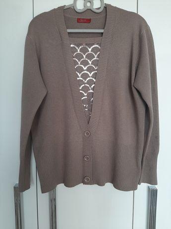 Kawowy sweterek XL/XXL