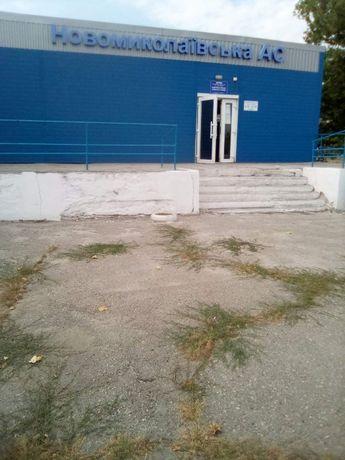 Нежилые помещения и часть территории Новониколаевской автостанции