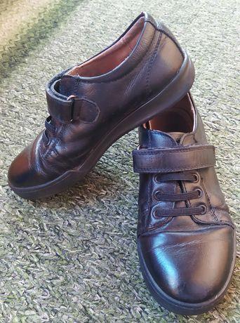 Туфли детские кожаные Kangfu для мальчика