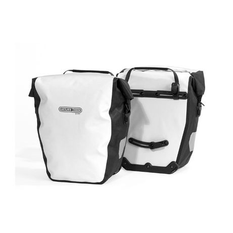 Sakwy rowerowe tylne Ortlieb BACK-ROLLER CITY WHITE-BLACK 40L