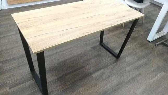 Стол лофт стильный современный дуб крафт рабочий обеденный кухонный