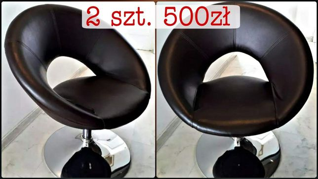 Sprzedam 2 krzesła do salonu kosmetycznego