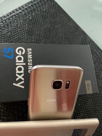 Samsung S7 gold pokrowiec