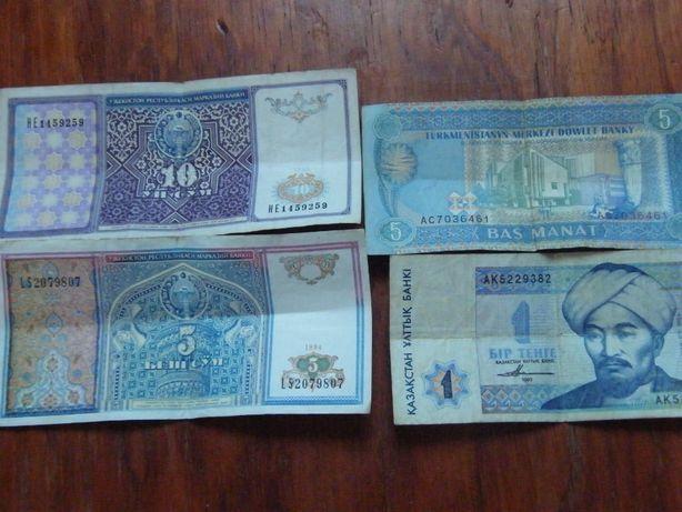 бумажные деньги стран Снг