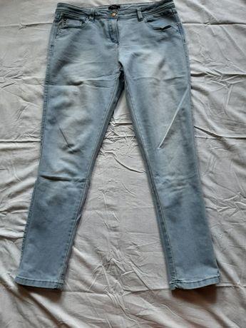 Spodnie jeansowe jasne 44