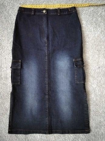 Spódniczka jeansowa 158, na szczupłą dziewczynę
