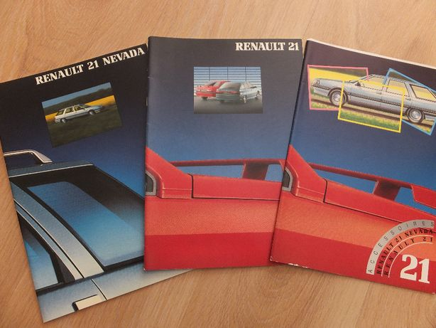 Prospekty Renault 21+Nevada+akcesoria-super zestaw!