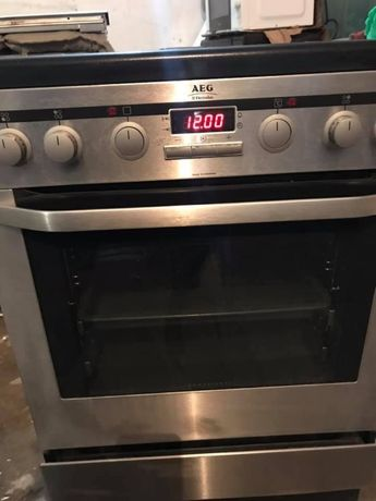 плита AEG з духовкою 60см