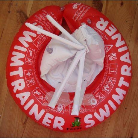 Swimtrainer круг надувной для плавания красный