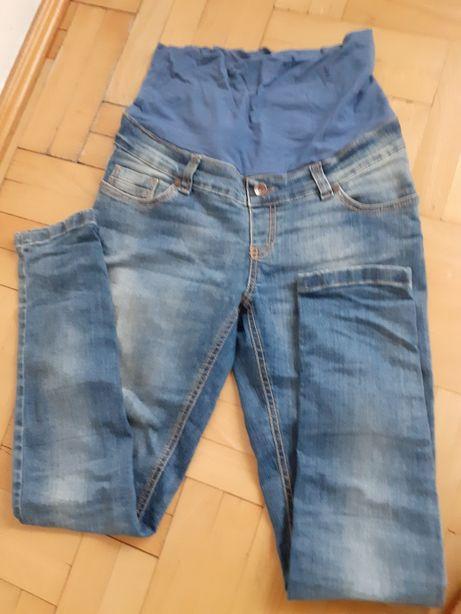 Spodnie ciążowe jeansowe HappyMum