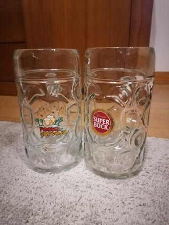 Canecas e copos de Cerveja