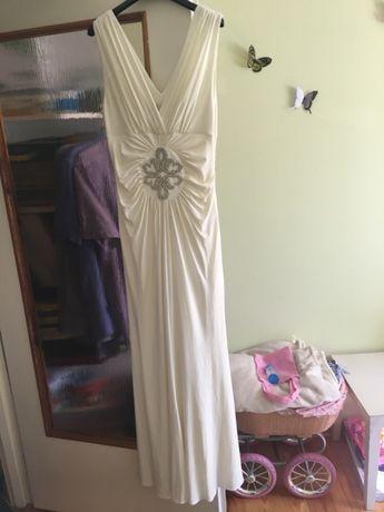 Piękna suknia ślubna rozm 40/ poprawiny