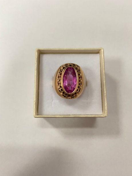 piękny okazały złoty pierścionek p585 9,03g