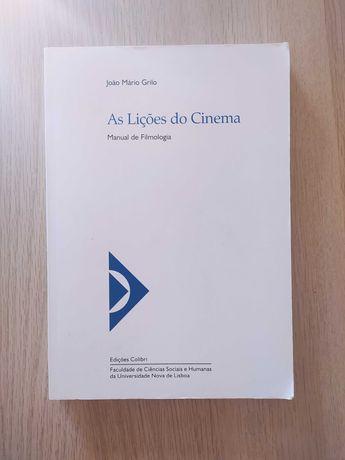 As Lições do Cinema - Manual de Filmologia, de João Mário Grilo