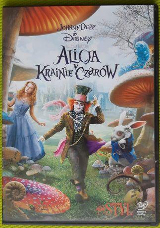 DVD bajki. Alicja w Krainie Czarów.
