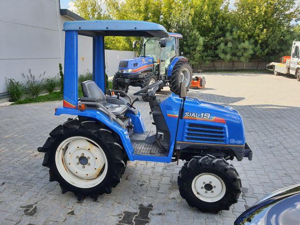 Minitraktor Iseki Sial 19,wspomaganie,Rewers,4x4