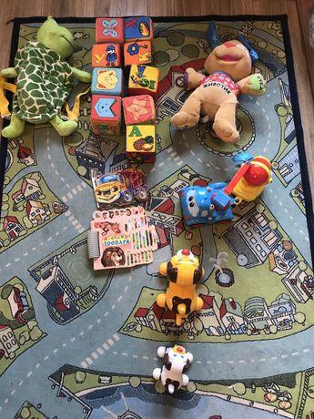 Большой лот игрушек 6 месяцев-4 года