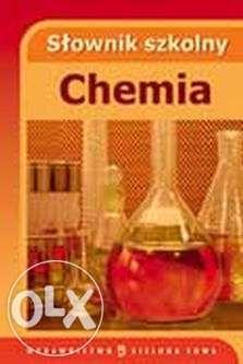 Nowy Słownik szkolny Chemia