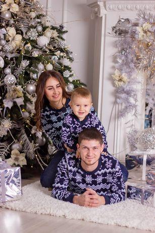 Новогодние Свитшоты Фемели Лук
