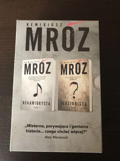 """Remigiusz Mróz """"Behawiorysta"""", """" Iluzjonista"""""""
