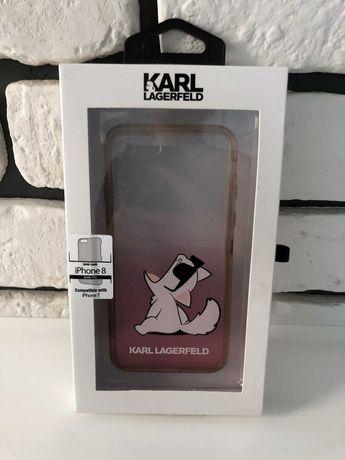 Case iPhone 7/8/SE 2020 Karl Lagerfeld Choupette kot kotek stan BDB