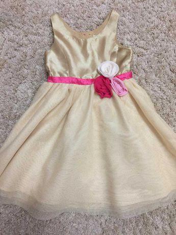 Нарядное платье H&M на 4-5 лет