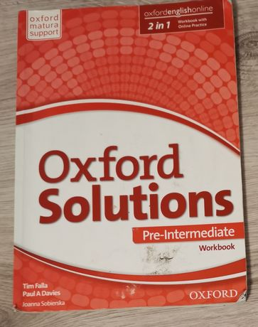 Oxford Solutions Pre Intermediate Workbook