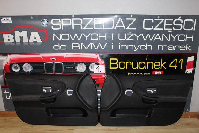 BMW E36 Boczki Tapicerka Drzwi Sedan Kombi Szare Przód Części BMA
