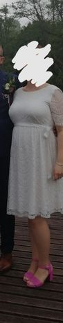 Sprzedam sukienkę ślubną ciążową