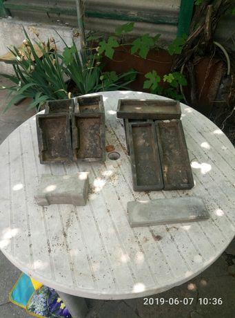 продам формы резиновые под тротуарную и облицовочную плитку