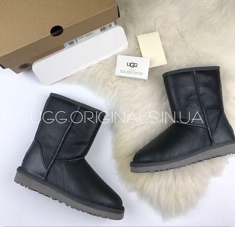 Угги UGG Australia Short  Leather Австралия  кожа Оригинал ЦВЕТА