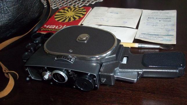 Kamera filmowa Quarz M PAPIERY ORGINAŁ Z 1968R warta uwagi jak nowa