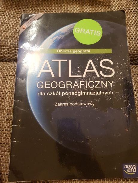 Atlas geograficzny dla szkół ponadgimnazjalnych liceum technikum
