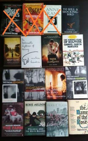 Książki po angielsku, wiele tytułów książki w języku angielskim