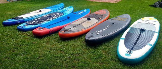 Deski SUP Standup paddle boards pompowane