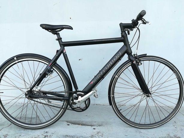 Rower miejski Fitness rama alu L koła 28 Nexus 7 na wzrost od 170cm